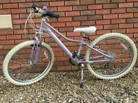 "Child Kid Girls 24"" BIKE GIANT AREVA 21 speed mountain bike, Shimano gears Front suspension"