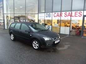 2006 55 FORD FOCUS 1.6 ZETEC 16V 5D 116 BHP***GUARANTEED FINANCE***PART EX WELCOME***