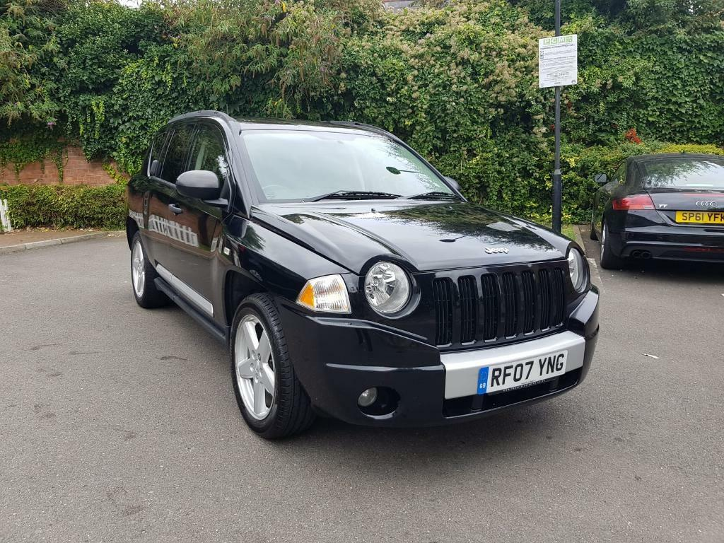 Jeep Compass Limited Edition 2.0 CRD Diesel 6 Speed Manual 2007 4X4 Drive