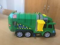 Toy rubbish lorry