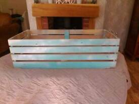 Wooden Crate storage box