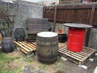 Old Wine barrels perfect for your project