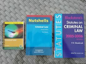 Law Books - Criminal, Family, Contract & Employment Law