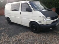 2000 Volkswagen transporter t4 1.9 rock and roll bed