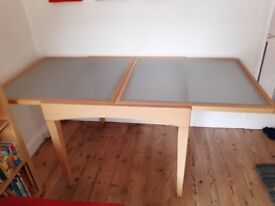 Free Extending dining table plus 4 chairs