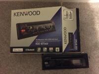 Kenwood KDC-BT34U Bluetooth and USB car stereo