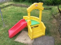 Little tikes slide playhouse good condition