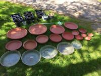 Various Plant Pots, Trays and Garden Items