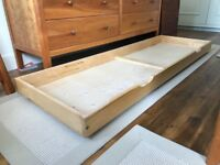 Futon Company under bed storage units