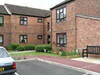 One bedroom first floor flat for the over 60's