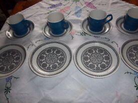 Vintage tea set circa 1958