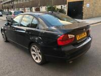 2005 AUTOMATIC BMW 3 SERIES BLACK LEATHER WITH SERIVE HISTROY AND MOT LOW MILES DIESEL