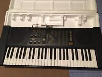 Full size electronic piano keyboard