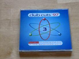 Club cuts dance music CDs 1997. 50p