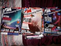 Astronomy Now magazines for sale.