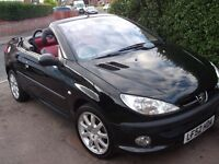 peugeot 206cc (low mileage)