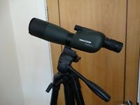 BARR AND STROUD SAHARA SPOTTING SCOPE AND VELBRON EX-640 TRIPOD