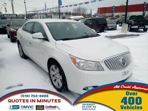 2012 Buick LaCrosse   LEATHER   HEATED SEATS   CAM