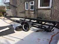 Gecko full aluminium boat trailer