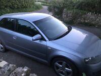 2004 Audi A3 3.2 Quattro sport spares or repair