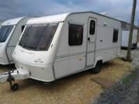 Elddis crown caravan 14 ft 4 berth 1997