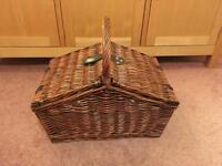 John Lewis Wicker Picnic Basket
