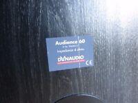 DYNAUDIO AUDIENCE FLOORSTANDERS SPEAKERS AWARD WINNER 150 watts