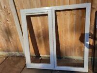 uPVC Window w-119cm x h-117cm with double glazed glass