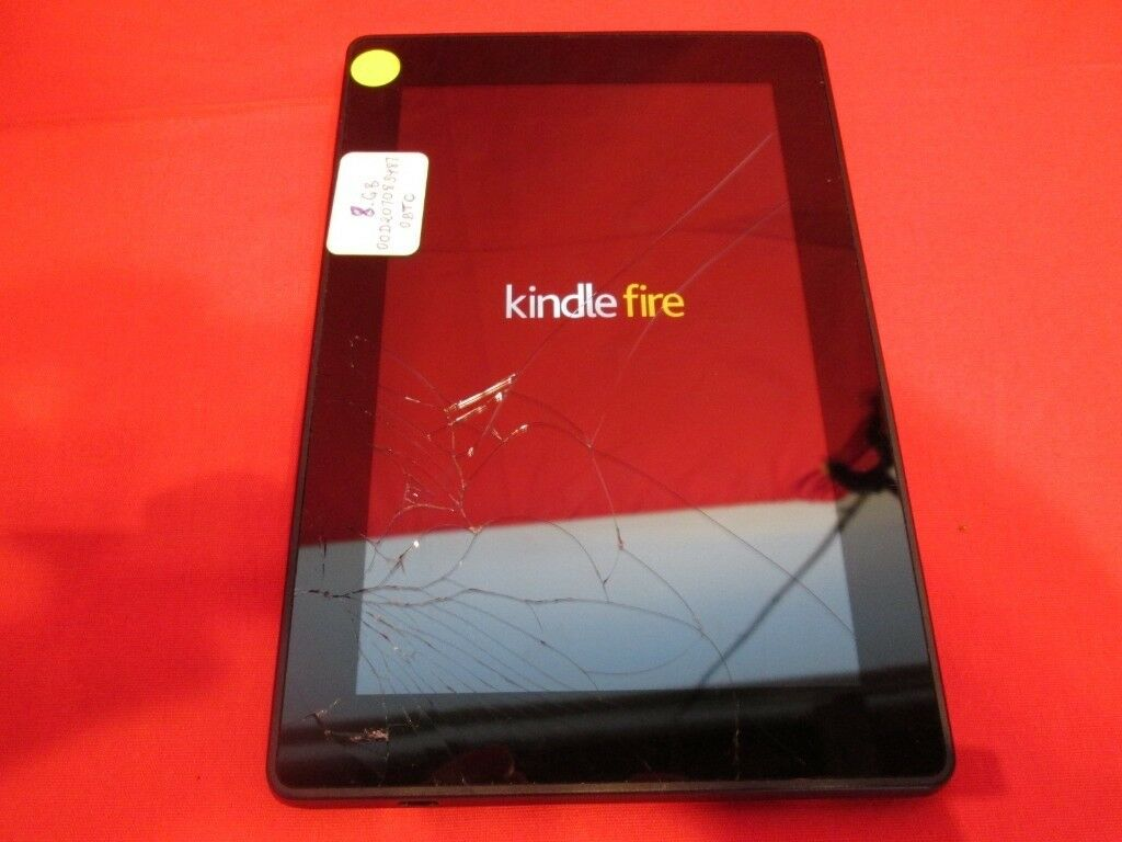 Amazon fire tablit 5th geniration with cracked outer glass screen | in  Wallsend, Tyne and Wear | Gumtree