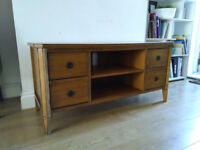Oak Solid wood TV unit - sideboard - free delivery available