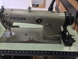 Brother sewing machine, model DB2-B775-3 made in Japan, located in New Cross SE14