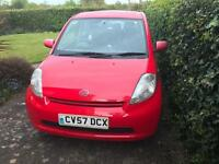Sale - Bargain - RED 2007 Dhaiatsu Sirion 1.0 R 5dr - Must go this Week
