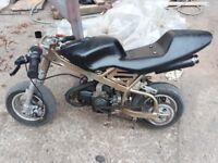 mini moto for sale 49 cc