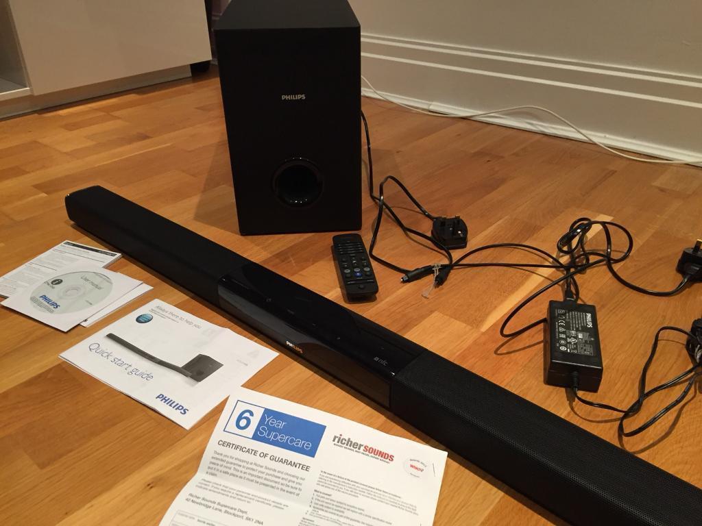Philips HTL5140B/12 Soundbar & Wireless subwoofer