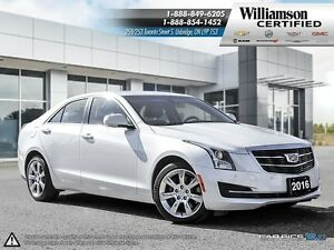 2016 Cadillac ATS 2.0L TURBO LUXURY COLLECTION**AWD**TURBO**SUNR