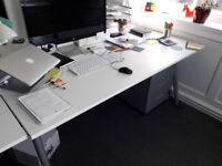 IKEA THYGE Desk Adjustable Height