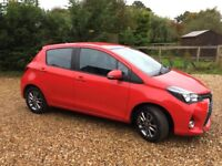 Toyota Yaris 1.0 VVT-i Icon 5dr, low mileage, one owner, new Mot, FSH, rear camera, £6295 ovno