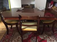 Stunning Italian table and chairs