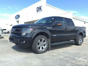2014 Ford F-150 FX4 Fully Loaded, Roof Nav, Clean Carproof