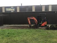 Digger hire