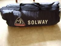 Eurohike Solway 3 person tent, other campuing gear
