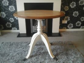 Nice table with brass claw feet