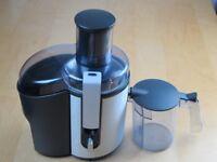 Philips HR 1861 Whole Fruit Juicer Brushed Aluminium 700 Watts