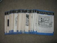 Woodworker Magazines x 23