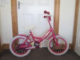 Girls Raleigh Bike 16 inch wheels