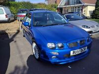 MG ZR 160 VVC | Loads of extras, 3 owners, good service history, MOT until June, Headgasket done!
