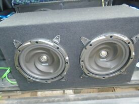 Kenwood subwoofer and amp