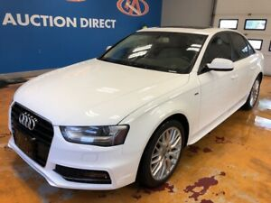 2015 Audi A4 2.0T S-LINE! NEW TIRES! LEATHER/ SUNROOF!