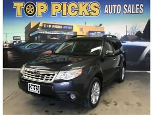 2013 Subaru Forester 2.5X Limited, Leather, Sunroof, Navigation,