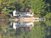 Cottage Lake Rental in the Valley of Nova Scotia